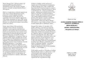 program znanstvenog skupa - Vijeće bošnjačke nacionalne manjine ...
