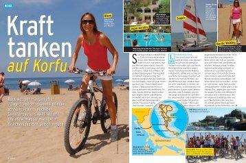 auf Korfu - Frosch Sportreisen