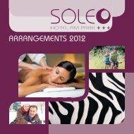 Arrangementprospekt - Hotel Soleo