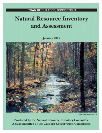 Natural Resource Inventory and Assessment