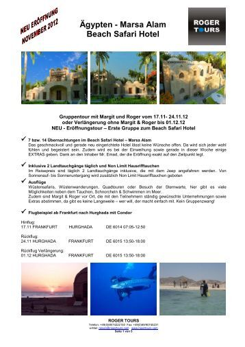 Mangrove bay resort marsa alam wirodive for Wirodive