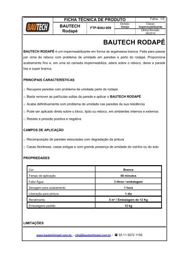 CAIXA OPERACIONAL - Bautech Brasil