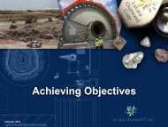 Achieving Objectives