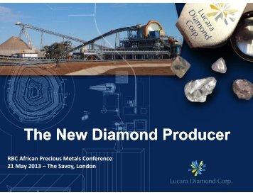 RBC African Precious Metals Conference Presentation - May 2013