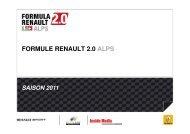 Guidelines Saison 2011 - wsr-switzerland.ch