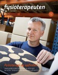 Fysioterapi og opfinderi - Danske Fysioterapeuter
