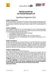 reglement lo formel renault 2.0 2010 - wsr-switzerland.ch