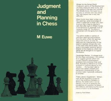 Judgement and Planning in Chess.pdf - The Fellowship