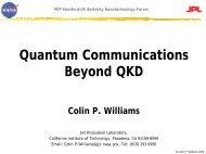 Quantum Communications Beyond QKD