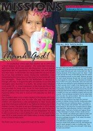 Info Thank God! - Christ for Asia