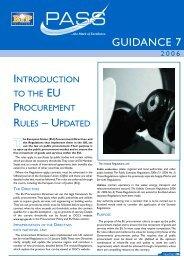 Introduction To The EU Procurement Rules ... - BiP Solutions Ltd.