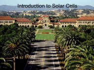 Introduction to Solar Cells