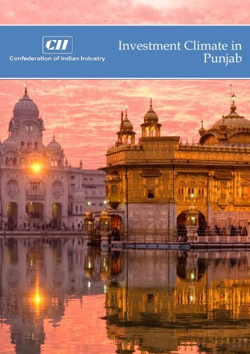 Investment Climate in Punjab