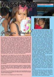 MISSIONS Info Gott sei Dank! - Christ for Asia