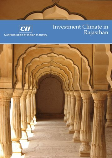 Investment Climate in Rajasthan