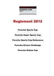 VSPC Kalender 2012 - Club Porsche Romand