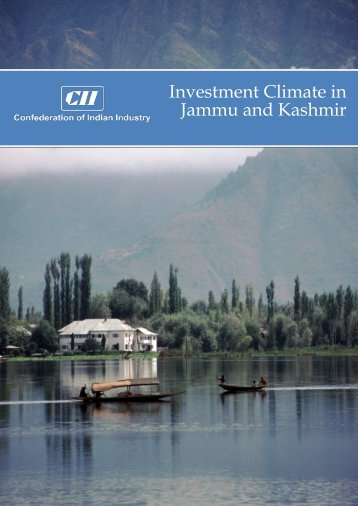 Investment Climate in Jammu and Kashmir
