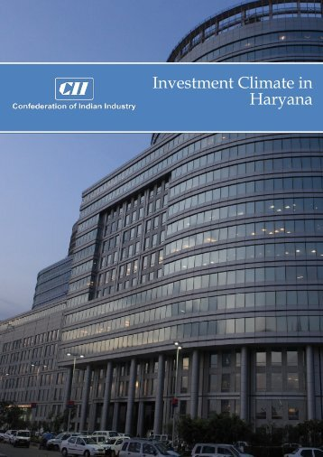 Investment Climate in Haryana