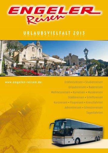 URLAUBSVIELFALT 2013 - Engeler Reisen