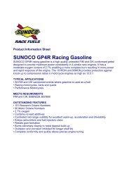 SUNOCO GP4R Racing Gasoline - Horag
