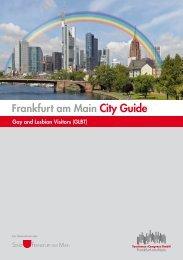 Frankfurt am Main City Guide - Tourismus und Congress GmbH