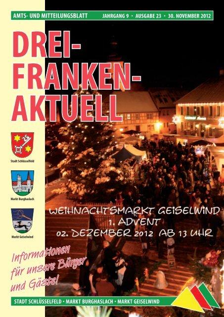 Ausgabe 23/2012 - Geiselwind