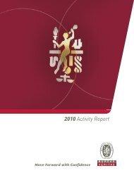 2010 Activity Report
