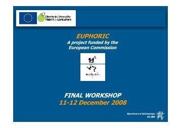 FINAL WORKSHOP 11-12 December 2008