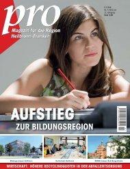 ZUR BILDUNGSREGION - Wirtschaftsregion Heilbronn - Franken