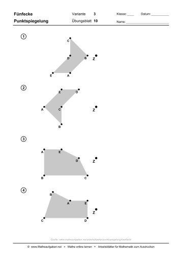 Fantastisch Mathe Dreieck Arbeitsblatt Zeitgenössisch ...