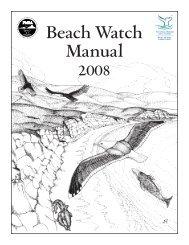 Beach Watch Manual - Farallones Marine Sanctuary Association