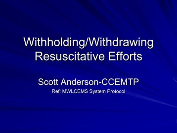 Withholding/Withdrawing Resuscitative Efforts - Centegra Health ...