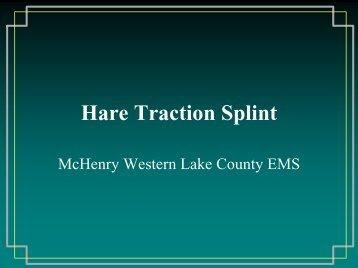Hare Traction Splint