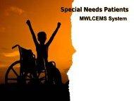 Special Needs Patients