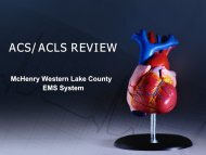 What is Acute Coronary Syndrome