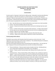 Communication - Centegra Health System