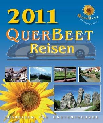 und Reisejahr 2011 - QuerBeet reisen