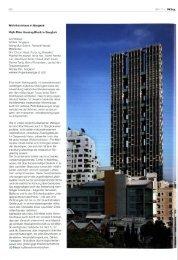 Wohnhochhaus in Bangkok High-Rise Housing Block in Bangkok ...
