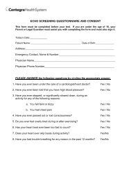 Pre-Screening Questionnaire and Consent Form