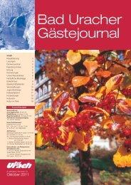 Oktober 2011 (PDF) - Bad Urach