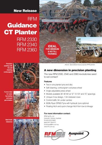 Guidance CT Planter
