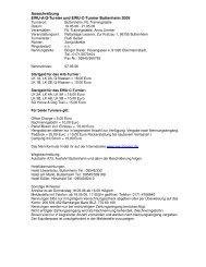 Ausschreibung EWU-A/Q-Turnier und EWU-C-Turnier Buttenheim ...