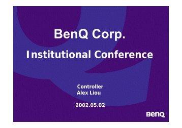 BenQ Corp