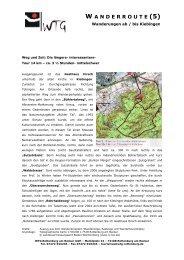 w anderroute - WTG Rottenburg am Neckar mbH