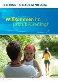 Ihr Urlaubsmagazin 2012 - Stadt Greding - Seite 2