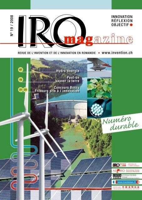 Numéro durable - Invention.ch