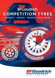 BFGoodrich COMPETITION TYRES - Michelin