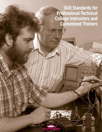 Skill Standards for Professional-Technical College Instructors and ...