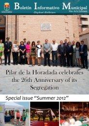 Pilar de la Horadada celebrates the 26th Anniversary of its ...