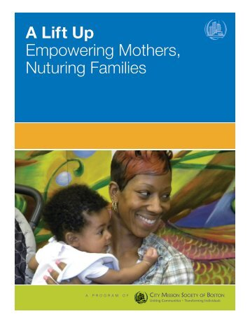 A Lift Up Empowering Mothers Nuturing Families